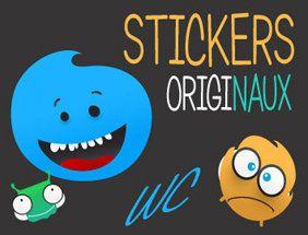 Stickers originaux